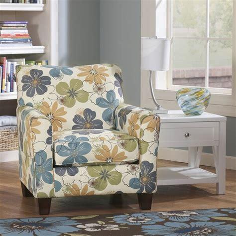 shop signature design  ashley kylee spa blue floral