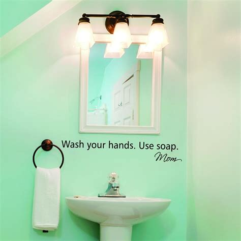 wash  hands wall quotes decal wallquotescom