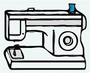 Clipart - Sewing Machine