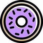Doughnut Icon Icons Dunker