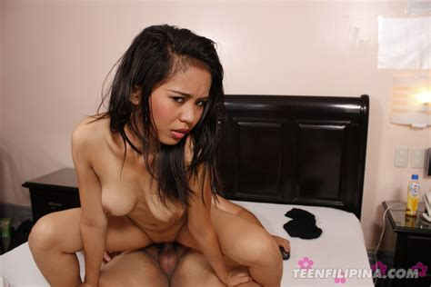Filipina Teen Doing A Reversed Cowgirl Position Asian
