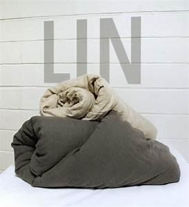 Linge De Lit Lin : housse de couette 240x260 lin lav ~ Teatrodelosmanantiales.com Idées de Décoration