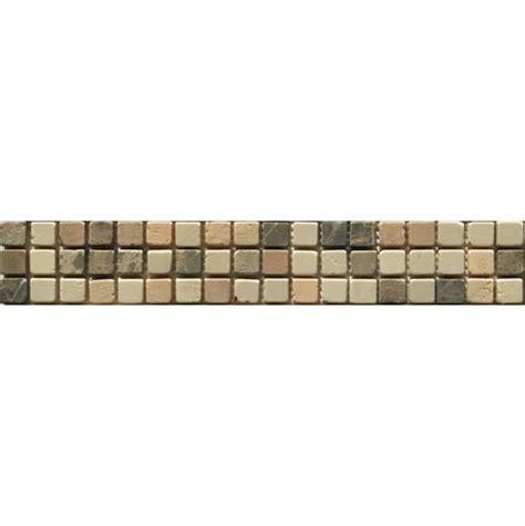 mosaic blue glass mosaic border mixed small tiles