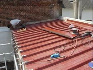 Toiture Bac Acier Prix : pose de bac acier pour toiture bac isolant caisson volet ~ Premium-room.com Idées de Décoration