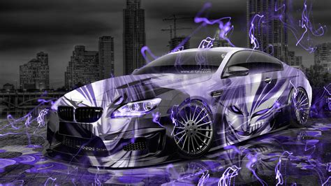 Black And White Animated Wallpapers - bmw m6 hamann tuning anime aerography city car 2015