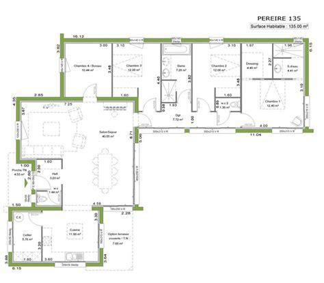 plan maison 120m2 3 chambres plan maison 120m2 3 chambres 10 la maison 224 toit plat