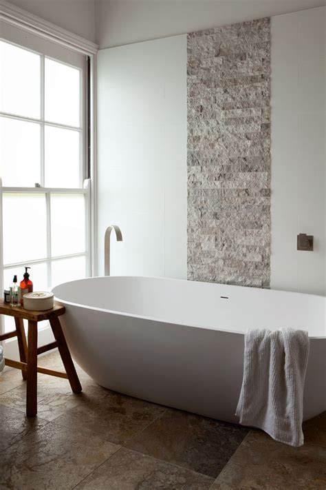 feature wall bathroom ideas the 25 best bathroom feature wall ideas on pinterest freestanding bath timber tiles and wood