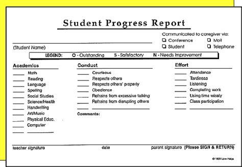 progress report templates excel  formats