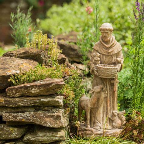 st francis garden statue francis of assisi resin garden statue