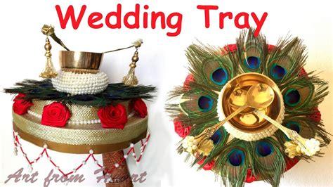 diy how to make decorative wedding tray plate wedding