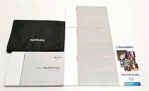 2014 Nissan Murano Owners Manual User Guide V6 3 5l S Sv