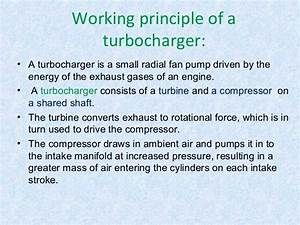 I.C. Engines / Turbocharger and-supercharger