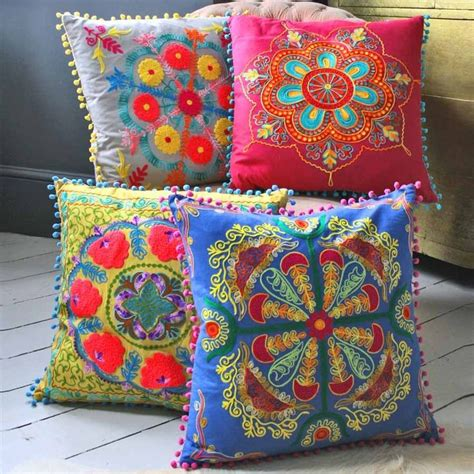 Bohemian Floor Cushions Uk by Moroccan Cushions Everything Cushions