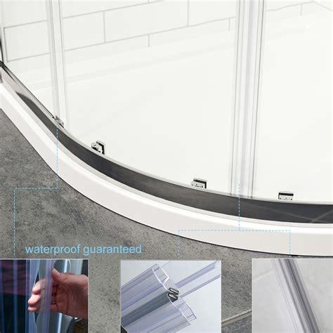 quadrant shower enclosure  tray mm temperedeasy clean