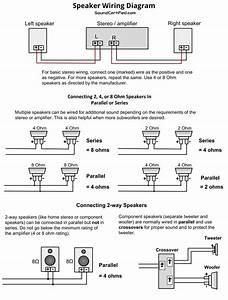 2 Way Speaker Wiring Diagram