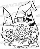 Gnome Gnomies sketch template