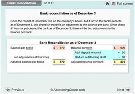 accounting visual tutorials accountingcoach pro