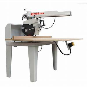 Minimax minimax radial arm saw sr900 radial arm saw from for Radial arm saw