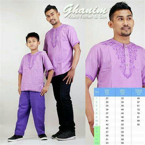 Baju Muslim Koko Pria Ayah Anak jual beli baju koko anak koko ayah anak koko gk