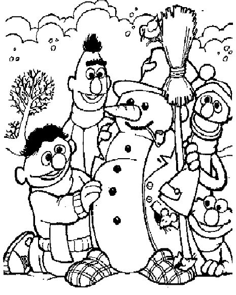 kids  funcom  coloring pages  sesame street bert