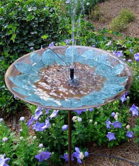 solar fountain bird bath tall birdbath  solar