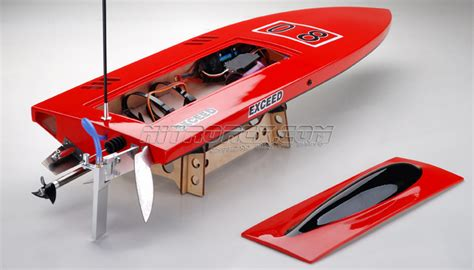 Rc Gas Boat Hardware Kit by Exceed Racing Boat Electric Powered Fiberglass Sword 630ep