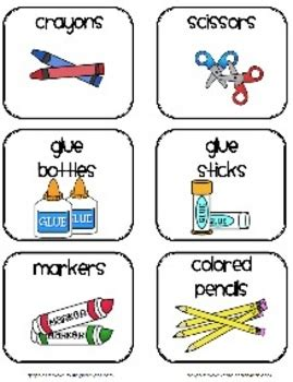 classroom supplies labels by 2care2teach4kids teachers 855 | original 142511 1
