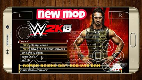 Feel free to ask/inform us in comments down below. HOW TO DOWNLOAD   WWE 2K18 ON ANDROID (PPSSPP MOD) - YouTube