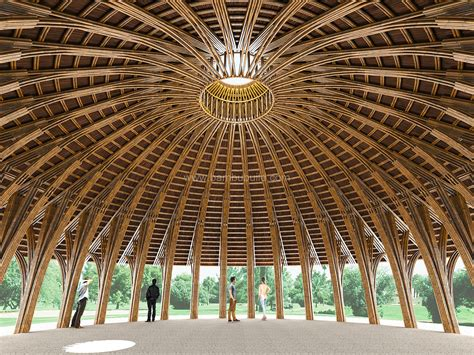 house bamboo architecture