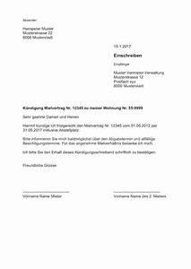 Kündigungsfrist Wohnung Beispiel : k ndigung wohnung mietvertrag vorlage muster ~ Frokenaadalensverden.com Haus und Dekorationen