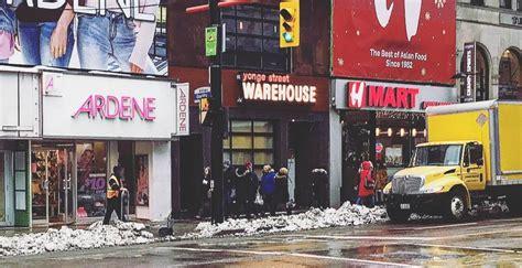 yonge street warehouse opens  doors  toronto