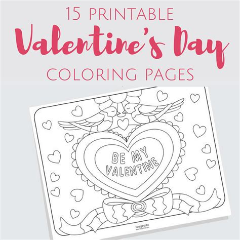 valentines day coloring pages free printable free printable s day coloring pages for adults