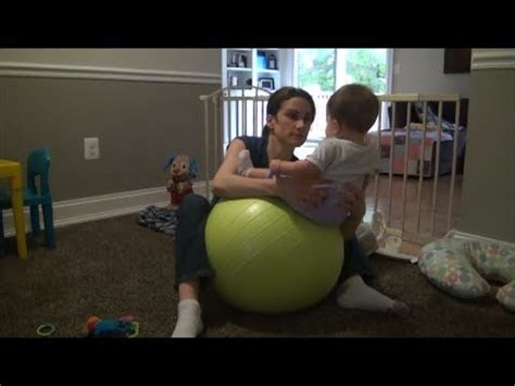 torticollis exercise  stability ball youtube