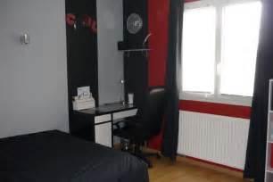 Idee Deco Chambre Ado Mansardee by Chambre Ado Photo 1 10 Peinture Noire Rouge Grise