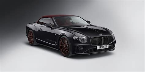 continental gt convertible number  edition