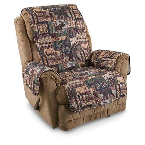 Slipcovers For Loveseat Recliners by Lodge Sofa And Chair Slipcover Set 614468 Furniture