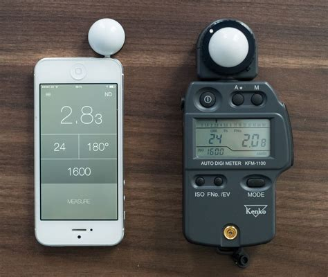 light meter review lumu iphone app for