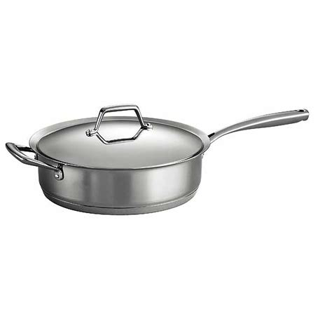 tramontina fry pan tramontina prima stainless steel covered saute pan 2910