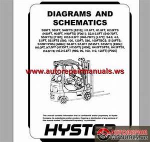 Hyster Diagrams And Schematics  8000 Srm 1387