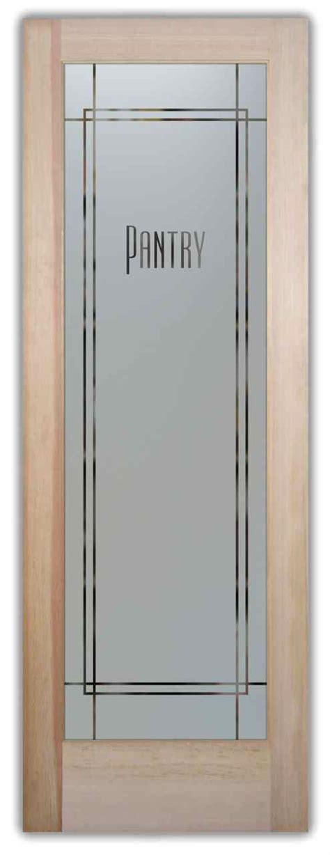 frosted glass pantry door carved glass pantry door sans soucie glass