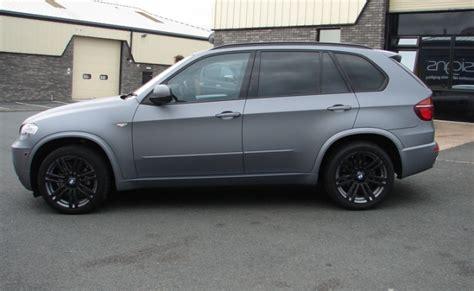 Bmw X5 Matte Grey Colour Change Wrap