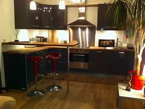 superb comment amenager une cuisine ouverte sur salon 2 With amenager cuisine ouverte sur salon