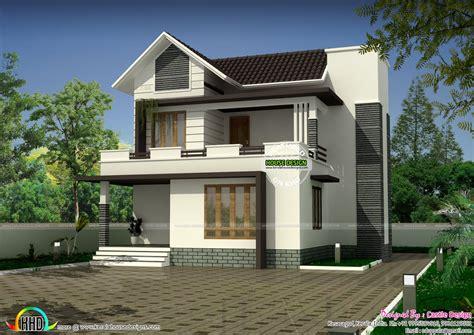 modern  sq  small house plan kerala home design bloglovin