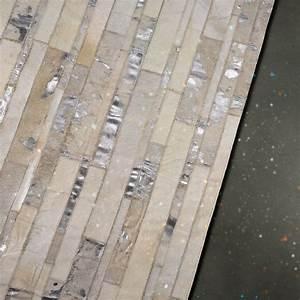 tapis star en cuir blanc angelo 200x300 With tapis en cuir
