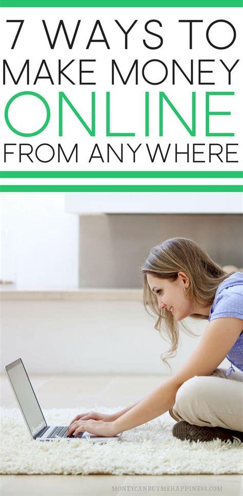 15 Ways To Make Money Online Internationally  Work Online And Travel