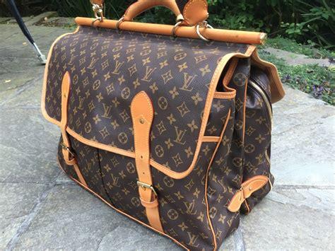 louis vuitton monogram sac chasse travel bag  stdibs
