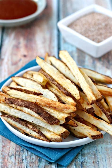 fries fryer french air salt seasoned fried recipe recipes deep save version russet table potato vegan fryers food crispy healthier