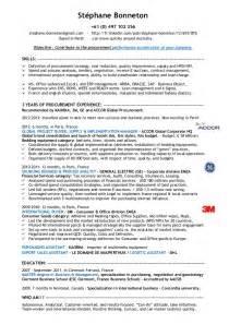 resume profile for purchasing stephane bonneton cv experienced procurement specialist