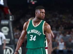 Giannis Antetokounmpo Body Face Update V2 NBA 2K17 At