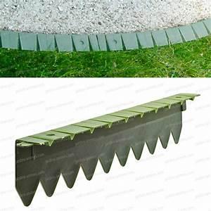 Graine De Gazon Pas Cher : bordurette pelouse flexible en plastique 6x50cm bordure ~ Dailycaller-alerts.com Idées de Décoration